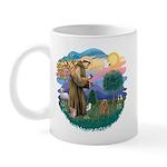 St. Fran #2/ Apricot Poodle (min) Mug