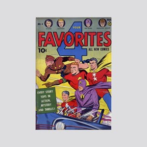 $4.99 Classic Four Favorites Magnet