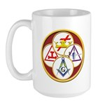 Masonic York Rite Large Mug