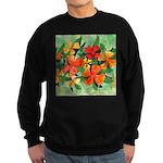 Tropical Flowers Sweatshirt (dark)