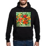 Tropical Flowers Hoodie (dark)