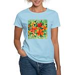 Tropical Flowers Women's Light T-Shirt