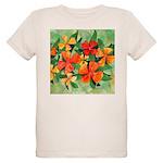 Tropical Flowers Organic Kids T-Shirt