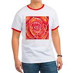 Red-Orange Rose Ringer T