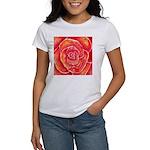 Red-Orange Rose Women's T-Shirt