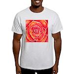 Red-Orange Rose Light T-Shirt