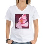 Pink Tulip Women's V-Neck T-Shirt
