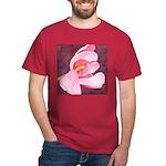 Pink Tulip Dark T-Shirt