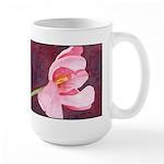 Pink Tulip Large Mug