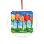 Tulip Trees Ornament (Round)