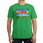 Tulip Trees Men's Fitted T-Shirt (dark)