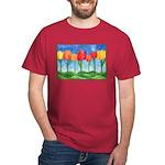 Tulip Trees Dark T-Shirt