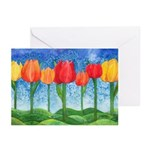 Tulip Trees Greeting Cards (Pk of 10)