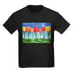 Tulip Trees Kids Dark T-Shirt