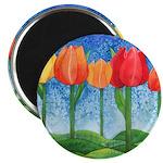 Tulip Trees Magnet