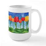 Tulip Trees Large Mug