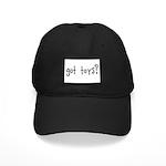 got toys? Black Cap