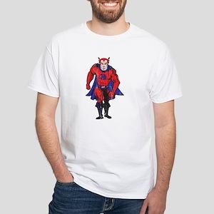Vintage Color CHD Hero White T-Shirt