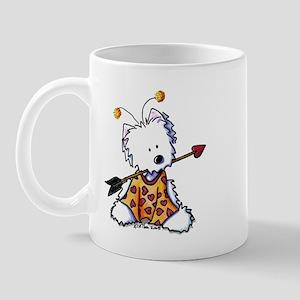 Love Bug Westie Mug