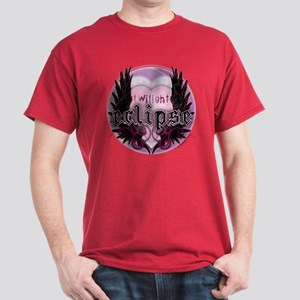 Twilight Eclipse Pink Heart Dark T-Shirt