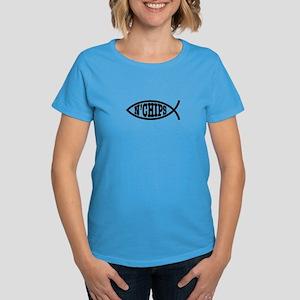 Fish n' Chips Women's Dark T-Shirt
