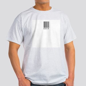 Geek Bar Code Ash Grey T-Shirt