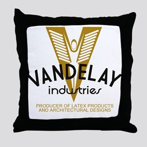 Vandelay Industries Latex Throw Pillow