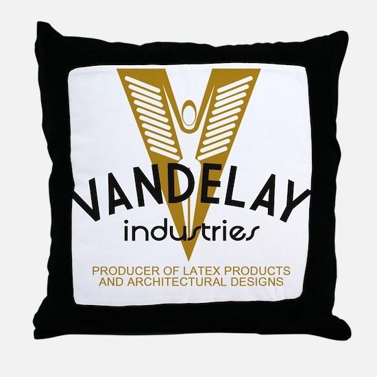 Vandelay Industries Latex Throw Pillow