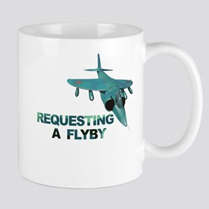 Requesting Flyby Buzz Tower Mug