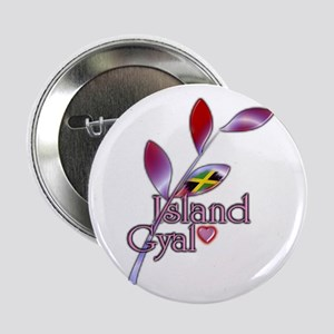 "Island Gyal twig - Jamaica - 2.25"" Button"