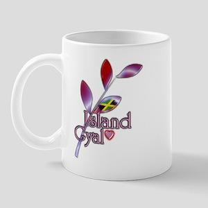 Island Gyal twig - Jamaica - Mug