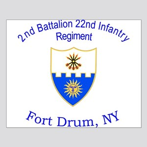 2nd Bn 22nd Inf Reg Small Poster