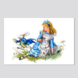 ALICE & THE RABBIT Postcards (Package of 8)