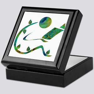 Green Reader Keepsake Box