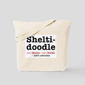 Sheltidoodle Dog Tote Bag
