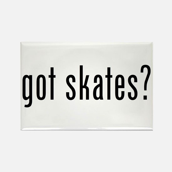 got skates Rectangle Magnet