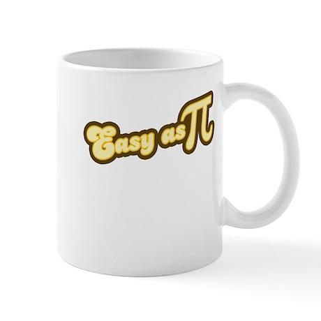 Easy as Pi (yellow) Mug