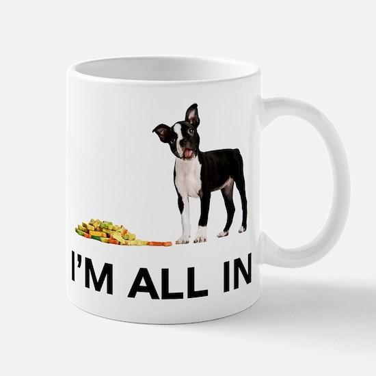 Boston Terrier Poker Mug