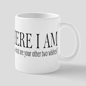 HERE I AM Mug