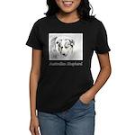 Australian Shepherd Women's Dark T-Shirt