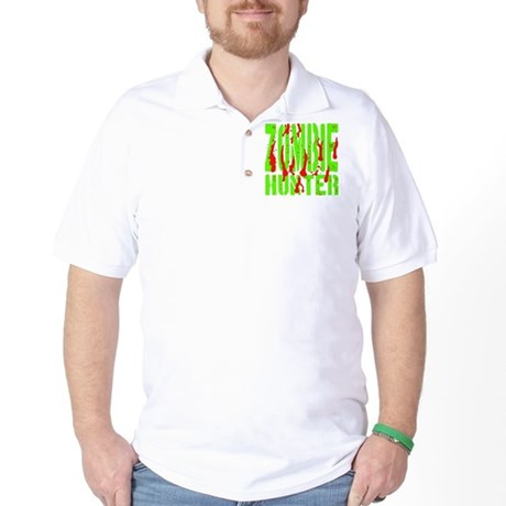Zombie Hunter Golf Shirt