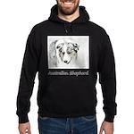 Australian Shepherd Hoodie (dark)