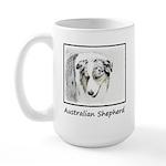Australian Shepherd 15 oz Ceramic Large Mug