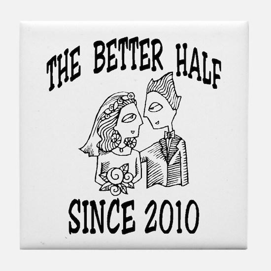 BRIDE 2010 Tile Coaster