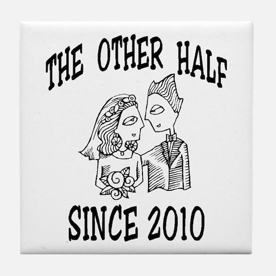GROOM 2010 Tile Coaster