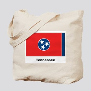 Tennesee State Flag Tote Bag