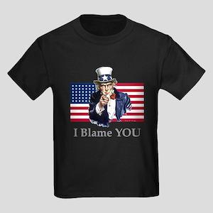 Uncle Blame Kids Dark T-Shirt