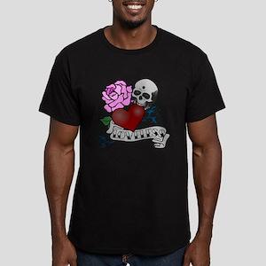 Loveless Men's Fitted T-Shirt (dark)