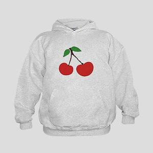 cherries (single) Kids Hoodie