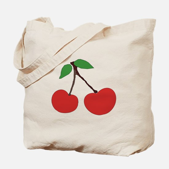 cherries (single/multiple) double-sided Tote Bag